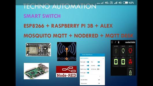 Home made Smart switch ESP8266 + Raspberry PI… – EverythingESP