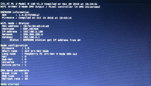 V14] WiFi ArtNet 3 Node DMX Out /… – EverythingESP