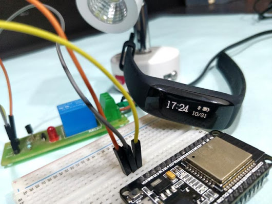 ESP32 BLE Client Connecting to Fitness Band to… – EverythingESP