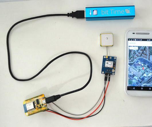 ESP8266 and Visuino: GPS Location web server with