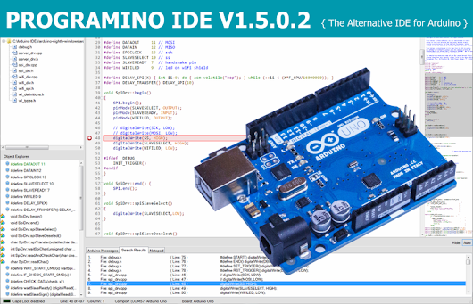 New PROGRAMINO IDE for Arduino is online (Version… – EverythingESP