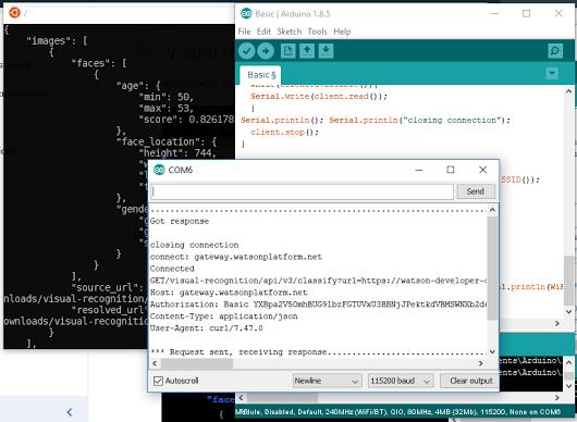 ESP32 Arduino : IBM Watson Visual Recognition of… – EverythingESP